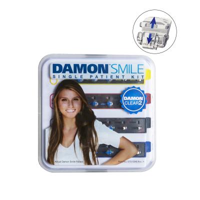 Ormco Damon Clear 2 全陶瓷自锁托槽套装(二代)